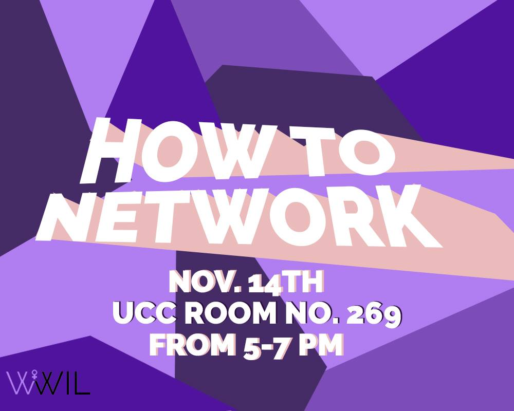 Event: How To Network